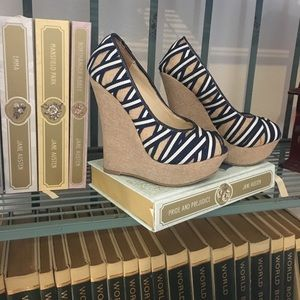 Shoe dazzle wedges!